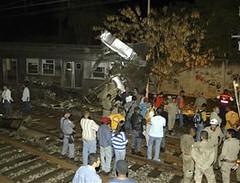 Choque de Trens em Nova Iguaçu. Foto 1