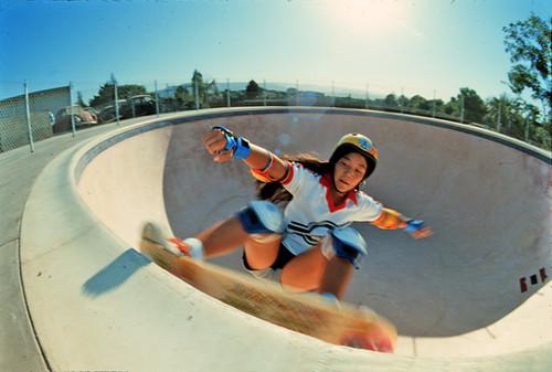 Winchester Skate park pool Judi O
