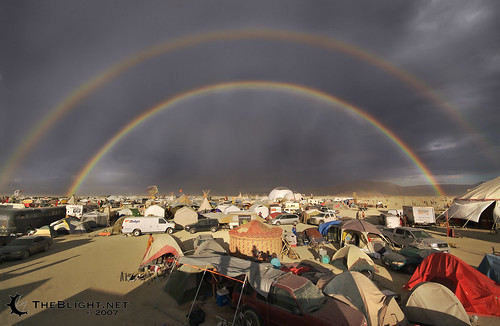 Post-storm, Burning Man 2007