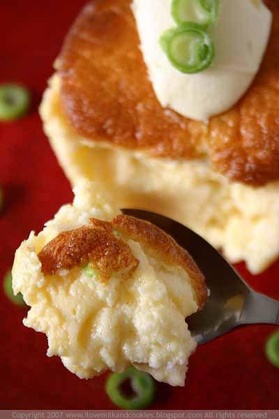 Taleggio Cheese Souffle