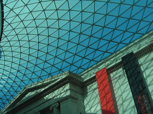 The dome at the British Museum