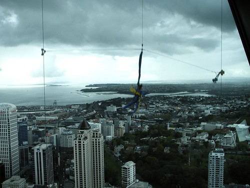 Jumping from the Sky Tower