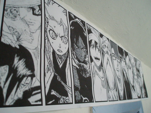 Bleach Blockposter close-up