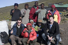 The Kilimanjaro Expedition Team