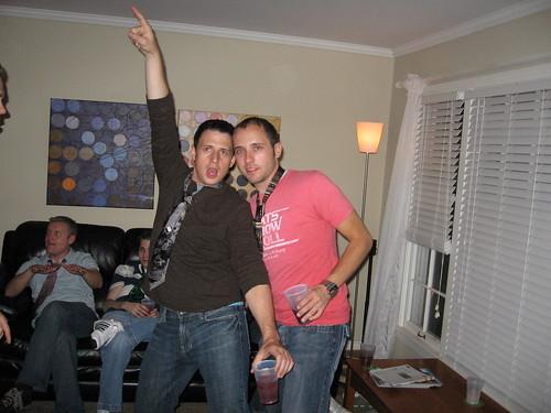 Clayton and John
