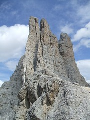 Vajolet Towers (Rosengraten Mountains) ( ILMARTINO ) Tags: mountains alps climb towers hut alpi trentino torri catinaccio vajolet realberto adoublefave dolomitic rosengraten