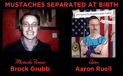 Mustaches Separated at Birth FIVE