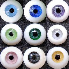 Parer_Weight_Glass_Eyes_For_Doll