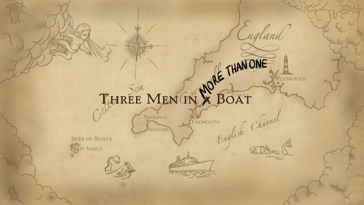 Three Men in More Than One Boat   Part 2 (5th January 2009) [HDTV 720p (x264)] preview 5