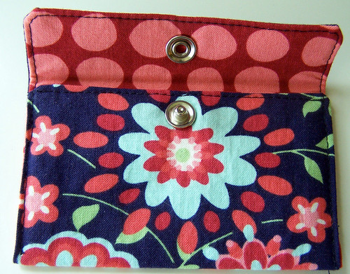 Mini Wallet in Amy Butler Fabric