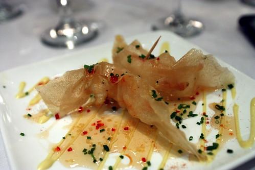 """Shrimp """"Papillotte"""""""