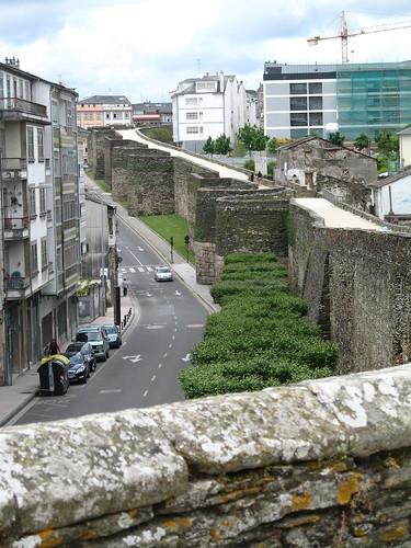 Lugo's Roman wall