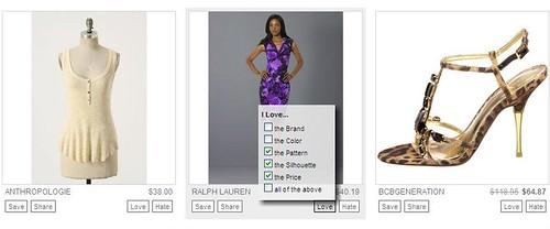 Personal Boutique Options