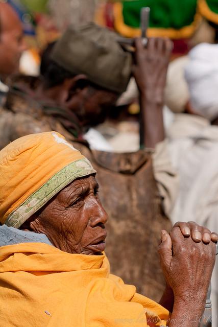 Nun, Festival of Maryam Tsion, Axum, Ethiopia, 2009