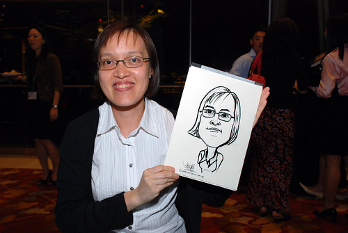 caricature live sketching for 2010 Asia Pacific Tax Symposium and Transfer Pricing Forum (Ernst & Young) - 22