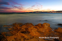 Salou (Nicolas Moulin (Nimou)) Tags: sunset sea espaa mer seascape beach atardecer mar spain playa catalua coucherdesoleil salou paysagemaritime paisajemaritimo