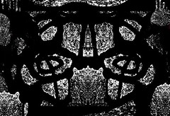 Black Top Abstracts (NMCIL) Tags: blackandwhite abstract art digital photoshop photography contemporaryart patterns computerart 2007