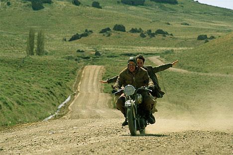 Fotograma de la película Diarios de motocicleta