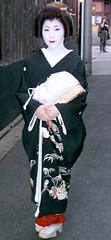 A Geiko in Gion (japanjuezba) Tags: japan kyoto maiko geiko gion
