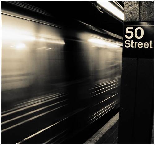 new york city subway. 50th Street -New York City
