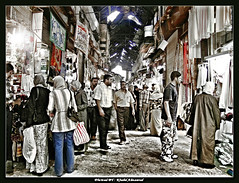 From Souq al-Hamidiyya-syria (khalid almasoud) Tags: city shopping nikon locals hijab daily lures syria souk damascus crowds oldest souq  8800   inhabited  continuously          aplusphoto   alhamidiyya