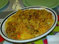 Goat Biryani at Lahore Food & Grill