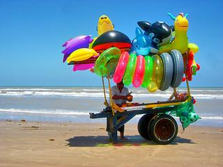 ¡Pásele-Pásele-Sí-Tenemos! @ Playa Bagdad, Tamaulipas