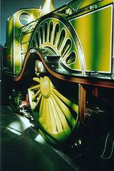Stirling No 1 4-2-2 (Elsie esq.) Tags: green stirling railway steam single locomotive gnr 422
