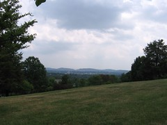 on top of the hill at Eastern Mennonite University