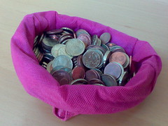 Münzen über Münzen