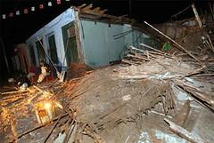 Destrucción en Cañete