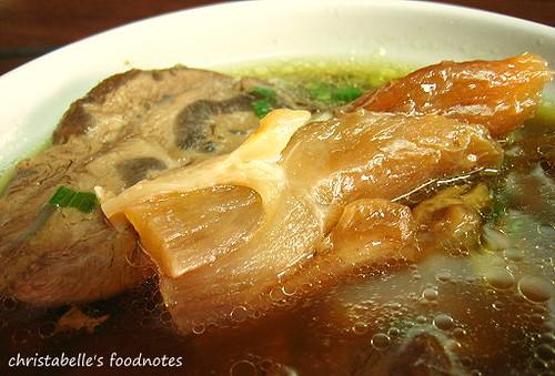 林東芳牛肉麵的筋