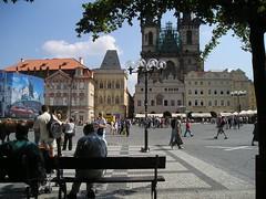 Old Town square, Prague (deejaydee) Tags: prague oldtown czechia staremesto