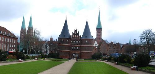 Lübeck find important landmarks