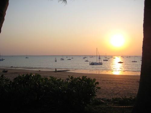 Sunset Darwin Sailing Club, Fannie Bay