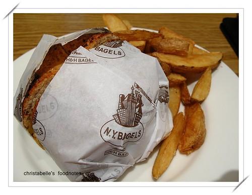 NY Bagel嫩烤雞胸肉三明治0