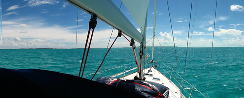 Smooth sailing in the Exumas, The Bahamas