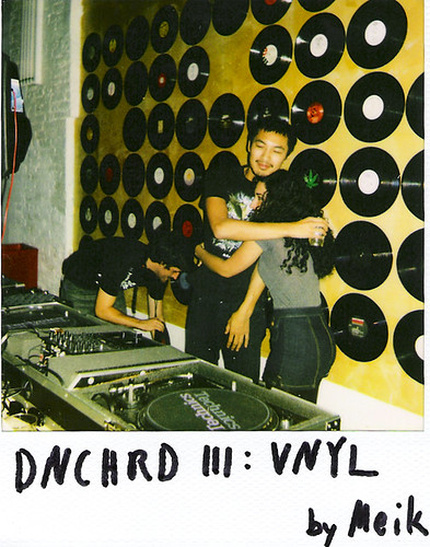Woodman and DJ Elhaam Robot Blair at DNCHRD III: VNYL