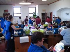 Dye lab - Yarn School 2007