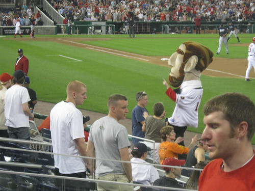 Abe after the Presidents Race