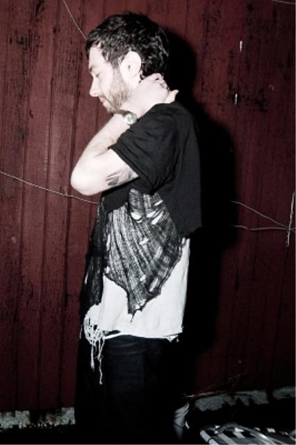 CMRTYZ half shredded black t-shirt 4