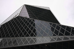 Shapes: Seattle Public Library (adameros) Tags: seattle june delete10 delete9 delete5 delete2 delete6 delete7 library delete3 delete delete4 2010 dmumeetup deletedbydeletemeuncensored