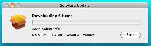 New Mac, Mo' updates