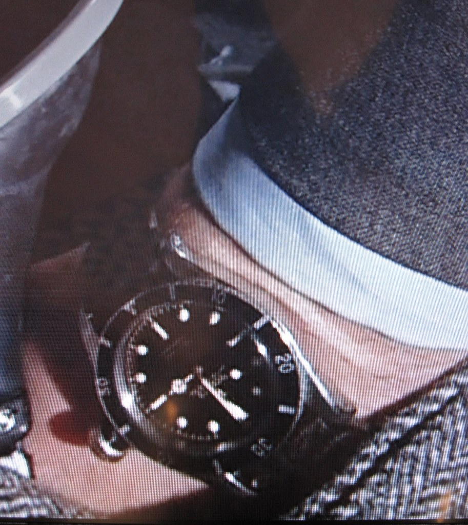 James Bond Rolex