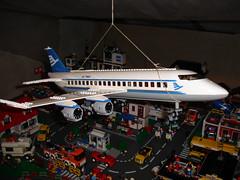 Plane 7893 (LegoSjaak) Tags: city train layout town lego stadt stad 2010 2011 8403 7938 7939 8404
