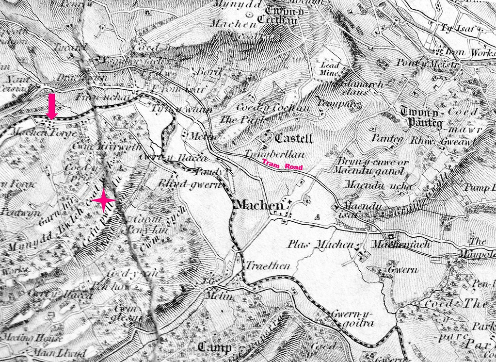 Machen - Ordnance Survey Map - 1829