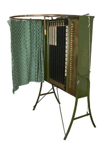 1890's Voting Machine