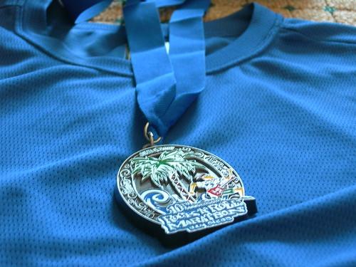 San Diego Rock N Roll Marathon Medal