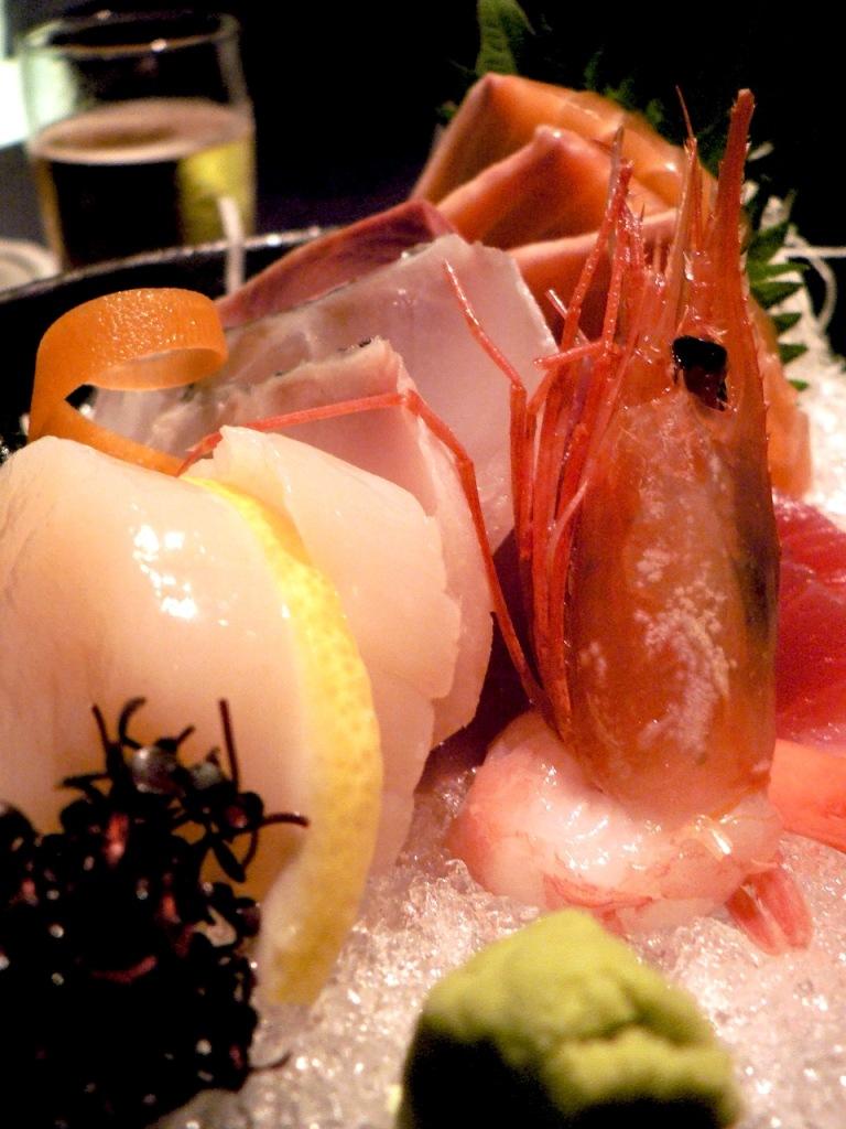 sashimi mori