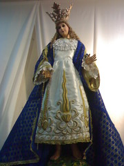 Nuestra Seora de las Flores (JMZ I) Tags: santa heritage beauty lady del de la shrine icons catholic maria faith mary philippines religion culture grand icon exhibit national tradition virgen mara con fatima madre grand marian valenzuela nuestra seora trono birhen santa santisima maria exhibit santsima maria mara santisima mara santsima procesin marian